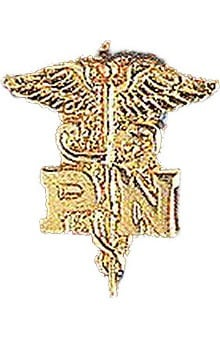 Arthur Farb Practical Nurse Pin