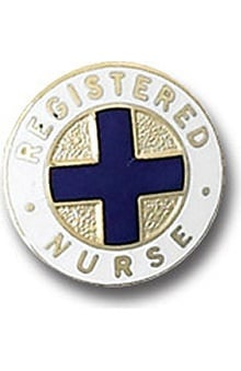 Arthur Farb Registered Nurse Emblem Pin
