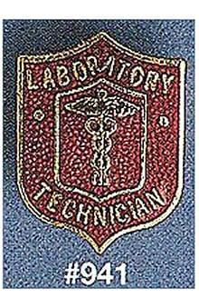 Arthur Farb Laboratory Technician Pin