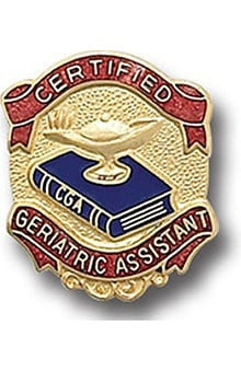 Arthur Farb Certified Geriatric Assistant Pin