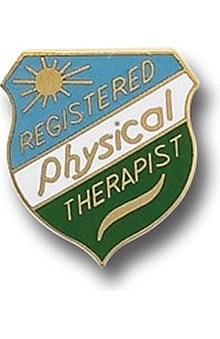 Arthur Farb Registered Physical Therapist Pin