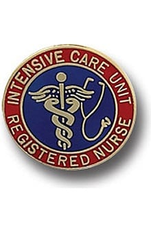 Arthur Farb Intensive Care Unit Registered Nurse Pin