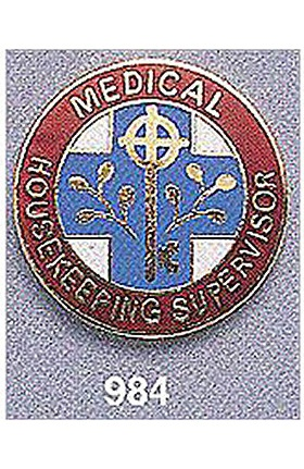 Arthur Farb Medical Housekeeping Supervisor Pin