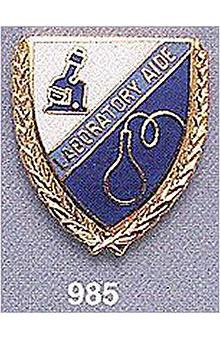 Arthur Farb Laboratory Aide Pin