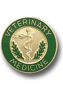 Arthur Farb Veterinary Medicine Pin