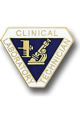 Arthur Farb Clinical Laboratory Technician Pin