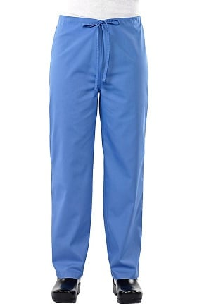 Clearance Safety Weave™ Antimicrobial Basics by AFS Unisex Drawstring Scrub Pants