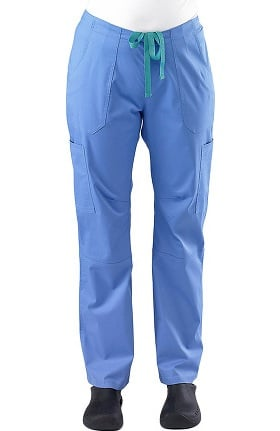 Clearance Safety Weave™ Antimicrobial Stretch Classics by AFS Women's Cargo Scrub Pants