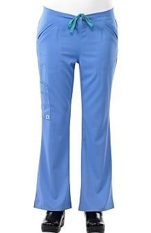 Safety Weave™ Antimicrobial Stretch Luxe by AFS Women's Flare Leg Scrub Pants