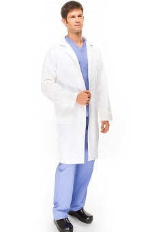 "allheart Basics Men's Twill 38"" Lab Coat"