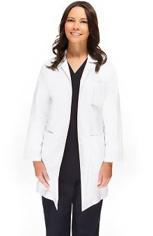 "allheart Basics Women's Full Length 38"" Lab Coat"
