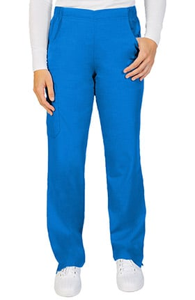 Ascent Women's Pull On Straight Leg Scrub Pant