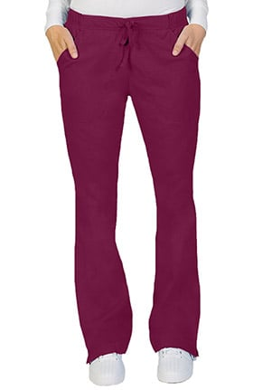 Ascent Women's Flare Leg Drawstring Scrub Pant