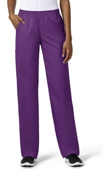 grace exclusively at allheart Women's Bootcut Cargo Pull-On Scrub Pant | allhear