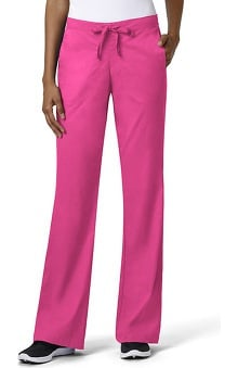 grace exclusively at allheart Women's Front Drawstring Flare Leg Scrub Pant | al
