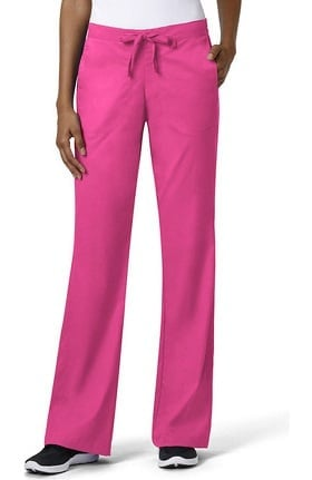 grace™ Exclusively at allheart Women's Flare Leg Drawstring Scrub Pant
