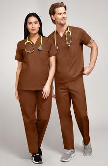 unisex scrub sets: allheart Scrub Basics Unisex Scrub Set
