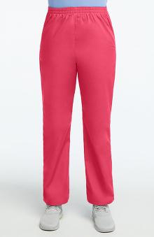 6XL: allheart Scrub Basics Women's Elastic Waist Scrub Pant