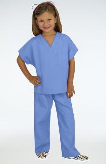 unisex scrub sets: allheart Scrub Basics Kid's Scrub Set