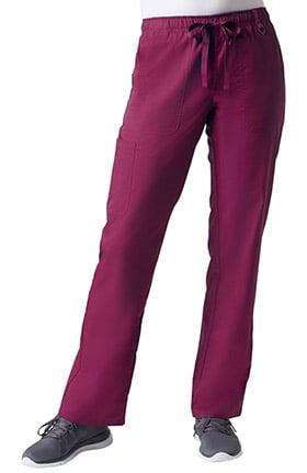 C3 Women's COOLMAX® Elastic Drawstring Waist Cargo Scrub Pant