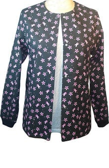 Clearance allheart Basics Women's Garden Dance Ribbons Print Jacket