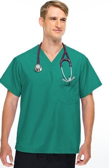 Allstar Uniforms Unisex V-Neck Scrub Top