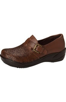 ANYWEAR Women's Laser Cut Slip-On Clog