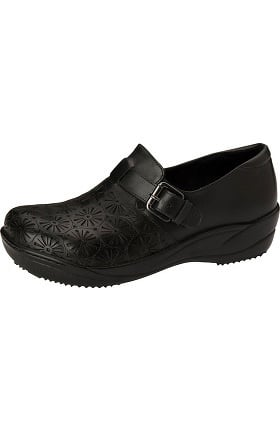 Clearance ANYWEAR Women's Laser Cut Slip-On Clog