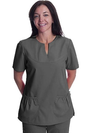 Clearance Scrub Works Women's Chelsea Baby Doll Solid Top
