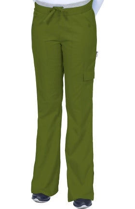Clearance Scrub Works Women's Soho Boot Cut Knit Waist Pant