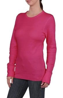 catplus: Branded Bull Women's Long Sleeve Light Weight Thermal Underscrub