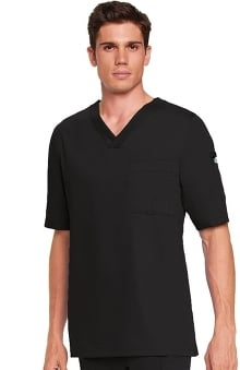 sale: Grey's Anatomy Men's 3-Pocket V-Neck Solid Scrub Top