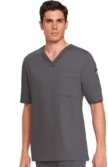 Clearance Grey's Anatomy™ Men's 3-Pocket V-Neck Solid Scrub Top