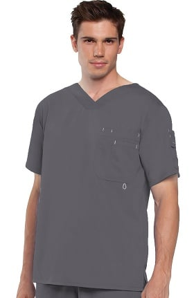 Clearance Grey's Anatomy™ Men's V-Neck Solid Scrub Top