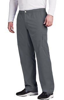 Active by Grey's Anatomy™ Men's Zip Fly Cargo Scrub Pant