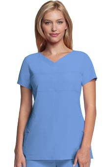 Signature by Grey's Anatomy™ Women's Soft V-Neck Solid Scrub Top