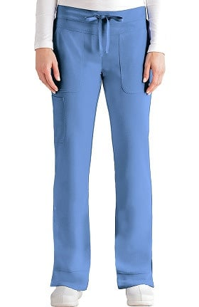 Signature by Grey's Anatomy™ Women's Drawstring Waist Scrub Pant