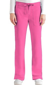 Clearance Signature by Grey's Anatomy™ Women's Straight Leg Cargo Scrub Pant