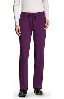 Signature by Grey's Anatomy™ Women's Low Rise Drawstring Scrub Pant