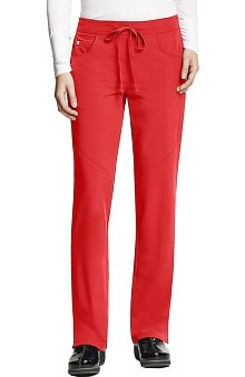 Clearance Signature by Grey's Anatomy™ Women's Low Rise Drawstring Scrub Pant