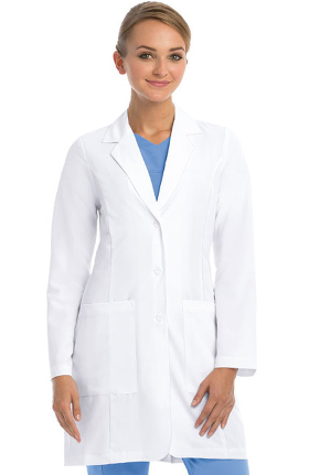 Signature by Grey's Anatomy™ Women's 3 Pocket Stretch 35'' Lab Coat