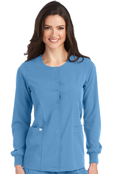 Signature by Grey's Anatomy™ Women's 2 Pocket Snap Front Jacket