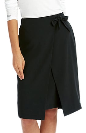 Clearance Signature by Grey's Anatomy™ Women's Faux Wrap Skirt