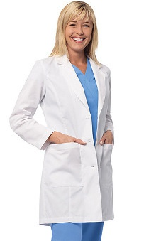 Lab Coats by Barco Uniforms Women's Princess Seam Lab Coat