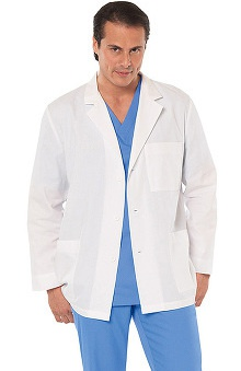 "Lab Coats by Barco Uniforms Unisex 3-Pocket 31"" Lab Coat"