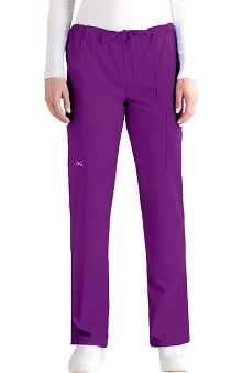 tall: NRG by Barco Uniforms Women's 4 Pocket Cargo Scrub Pant