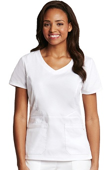 Prima by Barco Uniforms Women's Wide V-Neck Scrub Top