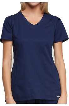 Clearance Active by Grey's Anatomy™ Women's Color Block V-Neck Scrub Top