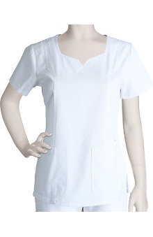 Clearance Prima by Barco Uniforms Women's Square Notch Neck Scrub Top
