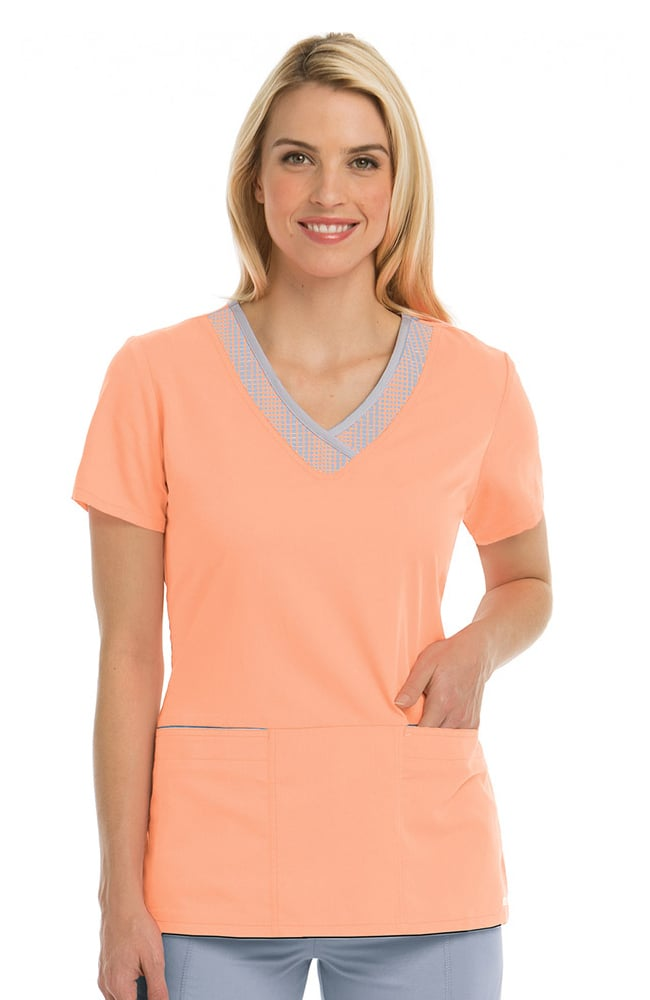 Clearance Active by Grey's Anatomy™ Women's Print Inset V ...